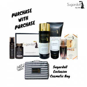 PURCHASE WITH PURCHASE SUGARDOLL FULL SET & COSMETIC BAG
