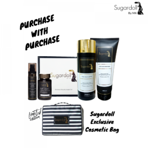 PURCHASE WITH PURCHASE SUGARDOLL COMBO & COSMETIC BAG