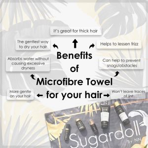 SUGARDOLL FULL SET WITH FREE SUEDE MICROFIBER BATH TOWEL